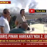 Habertürk'e canlı yayında ateş açıldı