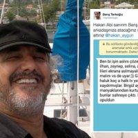 Hakan Aygün'ü zora sokan mesaj: 'Gürkan malını vs.'de uyar'