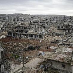 Halep yerine Kobani hatası!