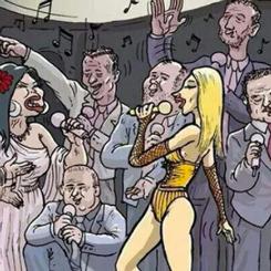 Hande Yener'in şarkısını kapağına taşıdı