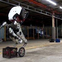 Handle robot lojistik için hazır