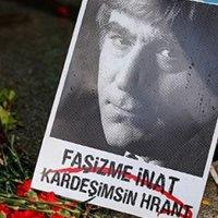 Hrant Dink vurulduğu yerde anılıyor!