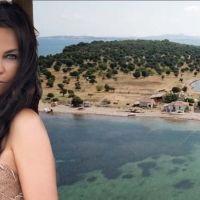 Hülya Avşar Ayvalık'ta 55 milyon TL'ye ada satın aldı
