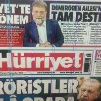 Hürriyet Ahmet Hakan'ın GYY olduğunu böyle duyurdu!