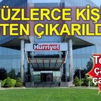 Hürriyet Gazetesi'nde 386 kişinin işten çıkarılması