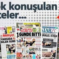 Hürriyet gazetesi basında lider