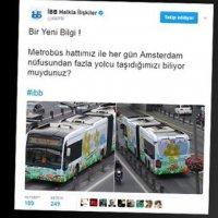 İBB'den olay yaratan tweet