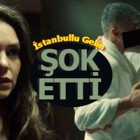 İstanbullu Gelin dizisinde Faruk ile Özgür'ün bornozlu öpüşme sahnesi