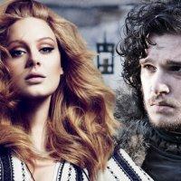 Jon Snow ve Adele aynı filmde!