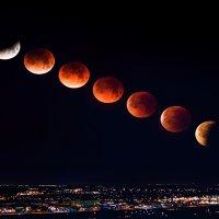 Kısmi Ay tutulması geliyor..bu gece gözlemlenecek...