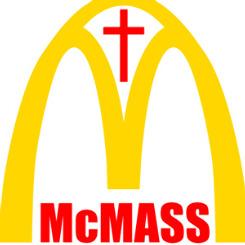 McDonald's kilise oluyor