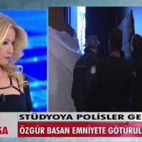 Müge Anlı'nın programında stüdyoyu polis bastı, konuğu gözaltına aldı!