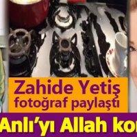 Zahide Yetiş o fotoğrafı paylaştı: Müge Anlı'yı Allah korumuş