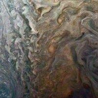 NASA, Jüpiter'de gerçekleşen fırtınayı fotoğraflamayı başardı