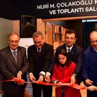 Nuri Çolakoğlu'dan büyük bağış!