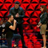 O Ses Türkiye yarışmasında sahnede evlilik teklifi!