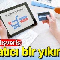 """Online alışveriş: """"Yaratıcı bir yıkım…"""""""