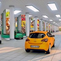 Otomobilli süper marketler mi geliyor?