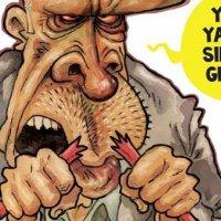 Penguen'den kalem kırdıran karikatür