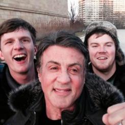 Rocky ile selfie