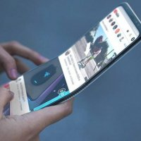 Samsung'tan katlanabilir telefon