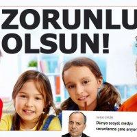 """Sedat Ergin'den """"Medya okuryazarlığı dersi zorunlu olsun"""" çağrısı"""