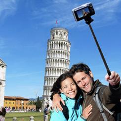 Selfie çubuğuna hapis
