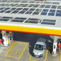 Shell & Turcas güneş enerjili ilk istasyonunu Ankara'da açtı