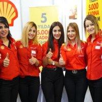 """Shell Kadın Enerjisi"""" Programı ile 2.300 kadına iş sağladı"""