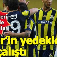 Süper Lig'in en golcü yedekleri Fenerbahçe'de