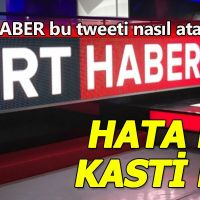 TRT HABER'in Twitter adresinde skandal FETÖ hatası