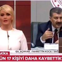 TRT'den Sağlık Bakanı Fahrettin Koca'ya sansür!