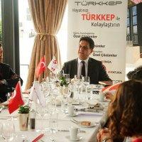 TÜRKKEP, Bursalı iş dünyası temsilcileri ile bir araya geldi