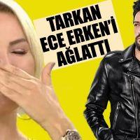 Tarkan'ın paylaşımının Ece Erken'i canlı yayında ağlatması