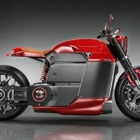 Tesla elektrikli motosiklet konsepti