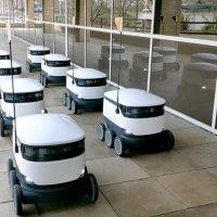 Teslimat robotu üniversitelerde çalışacak