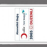Türk Telekom'dan ülkenin ilk Abonelikli Bağış Sistemi