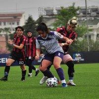 Turkcell Kadın Futbol Ligi'nde kupa ve ödül töreni yapıldı