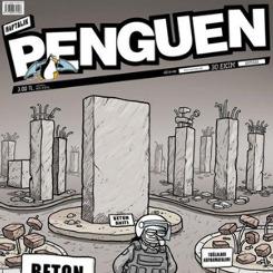 Türkiye'deki betonlaşma Penguen'e kapak oldu