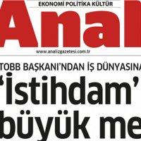 Türkiye'nin yeni ekonomi gazetesi