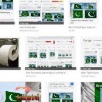 'Tuvalet kağıdı' aramasında Pakistan bayrağı