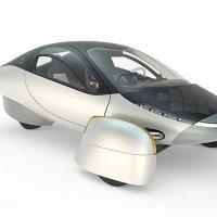 Üç tekerlekli güneş arabası geliştirildi!