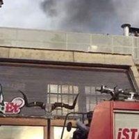 Ünlü et lokantası Nusret'te yangın!