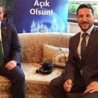 Ünlü radyocu Davutoğlu'nun partisine katıldı