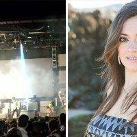 Ünlü şarkıcı herkesin gözleri önünde öldü!