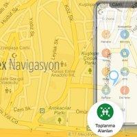 Yandex Afet toplanma alanlarını gösterecek!
