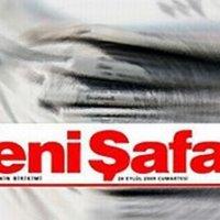 Yeni Şafak gazetesine yalanlama!