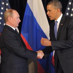 ''Yılın adamı'' anketinde Putin'den Obama'ya tarihi fark