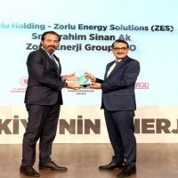 Zorlu Energy Solutions ödül aldı.