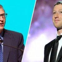 Zuckerberg ve Gates bir arada!